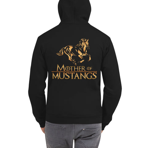 Mother Of Mustangs Hoodie Sweatshirt
