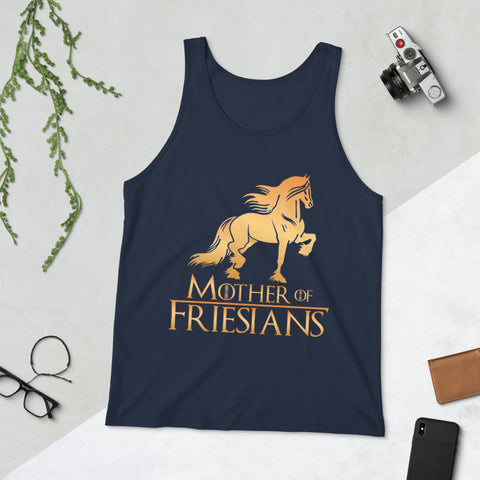 Mother Of Friesians Unisex Tank Top