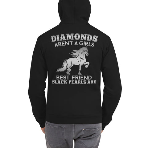Diamonds & Pearls Hooded Sweatshirt