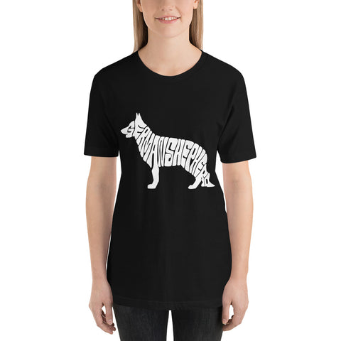 German Shepard Short-Sleeve Unisex T-Shirt