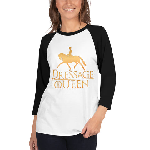 Dressage Queen 3/4 Sleeve