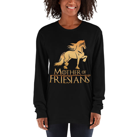 Mother Of Friesians Long sleeve t-shirt