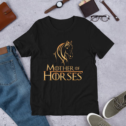 Mother Of Horses Short-Sleeve Unisex T-Shirt