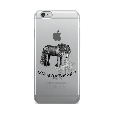 Going For Baroque iPhone Case