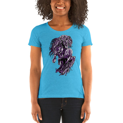 Fire & Ice Friesian Ladies' short sleeve t-shirt