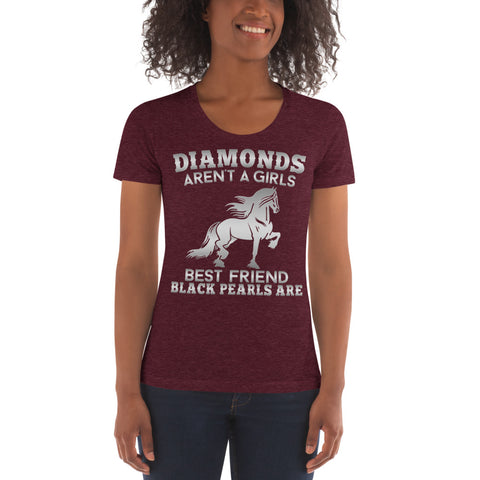 Diamonds & Pearls Women's Crew Neck T-shirt