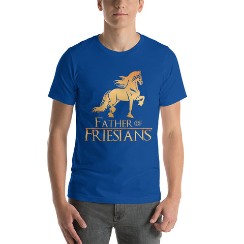 Father Of Friesians Short-Sleeve Unisex T-Shirt