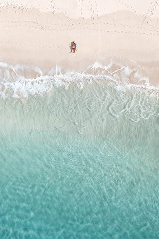 Turquoise shallows of Ned's Beach