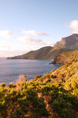 Lord Howe Island in the morning light
