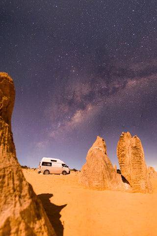 Starry night over the Pinnacles (1 of 3)