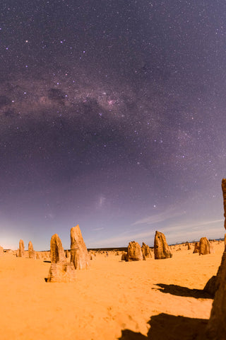 Starry night over the Pinnacles (2 of 3)