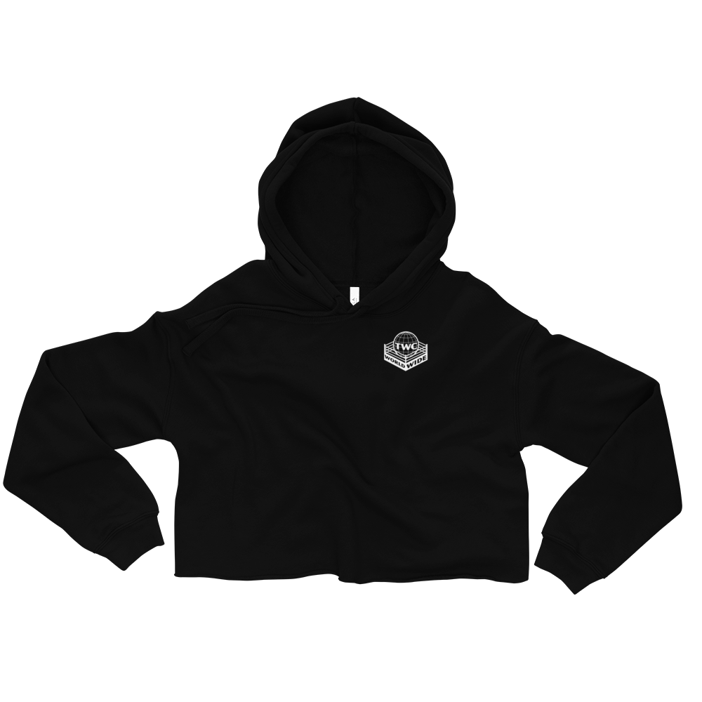 "The Wrestling Classic ""TWC Worldwide"" Crop Hoodie"
