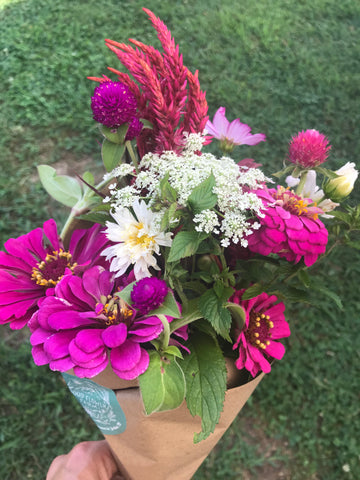 Organic Flower CSA Subscription Good Flower Farm in TN - Flower Bouquet