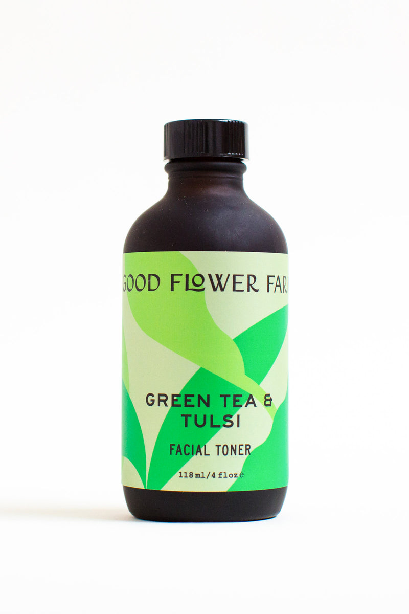 Green Tea & Tulsi Toner