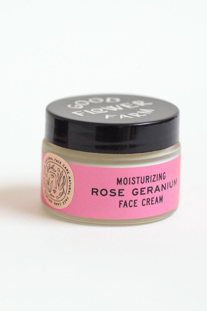 Rose Geranium Face Cream