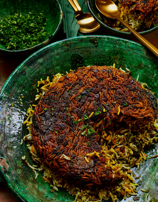 Sabzi Polo:  Herbed Persian Rice