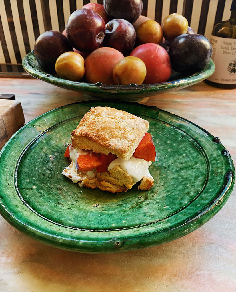 Stone Fruit Shortcakes