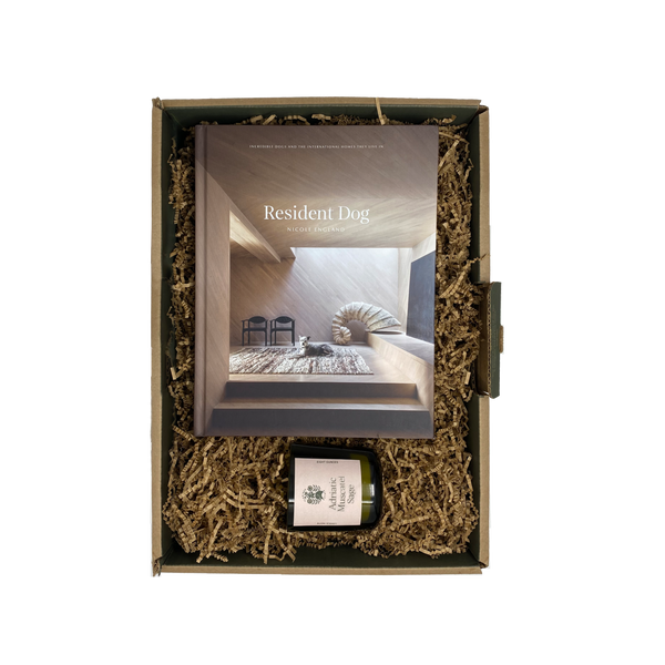 Candle & Book Home Gift Set - Flamingo Estate