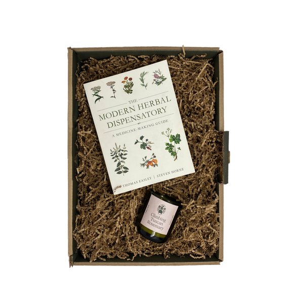 Candle & Book Herbal Gift Set - Flamingo Estate
