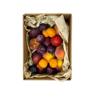 Organic Stone Fruit Box - Flamingo Estate