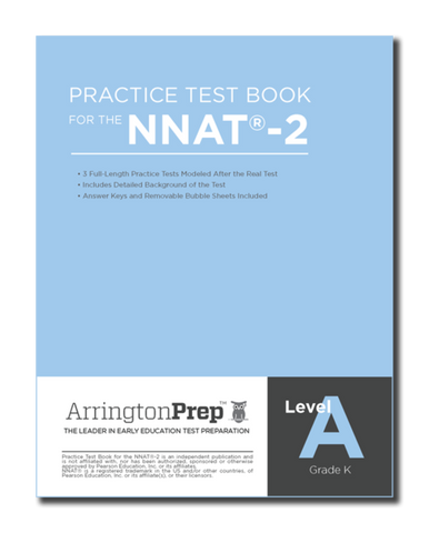 Practice Test Book for the NNAT®-2, Level A