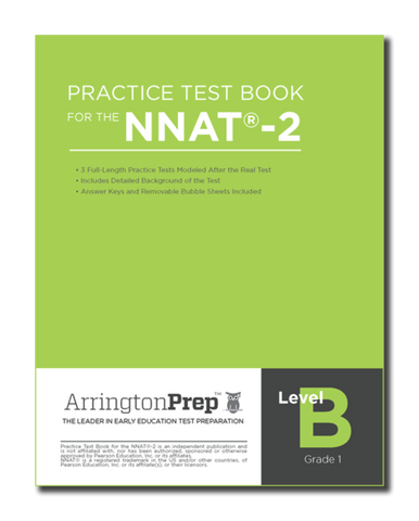 Practice Test Book for the NNAT®-2, Level B