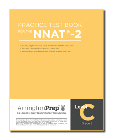 Practice Test Book for the NNAT®-2, Level C
