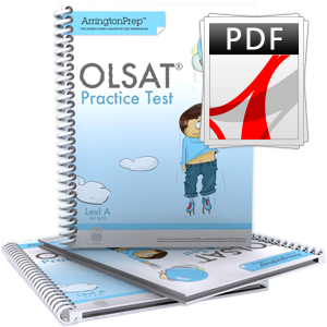 Practice Test for the OLSAT®-8, Level A (eBook Edition)
