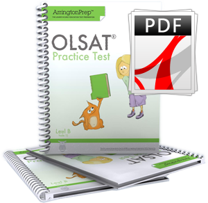 Practice Test for the OLSAT®-8, Level B (eBook Edition)