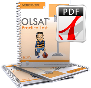 Practice Tests for the OLSAT®-8, Level C (eBook Edition)