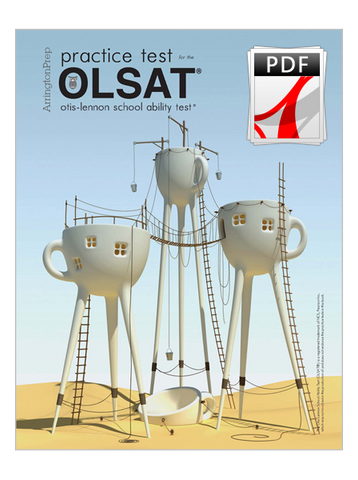 Practice Tests for the OLSAT®-8, Level D (eBook Edition)