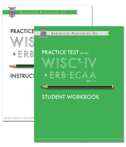 Practice Test for the WISC®-IV & ERB-ECAA