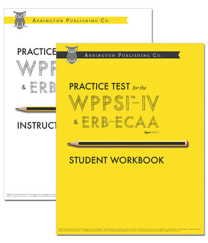 Practice Test for the WPPSI™-IV & ERB-ECAA