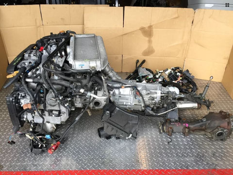 SUBARU IMPREZA WRX 02-07 ENGINE EJ205 WITH AVCS