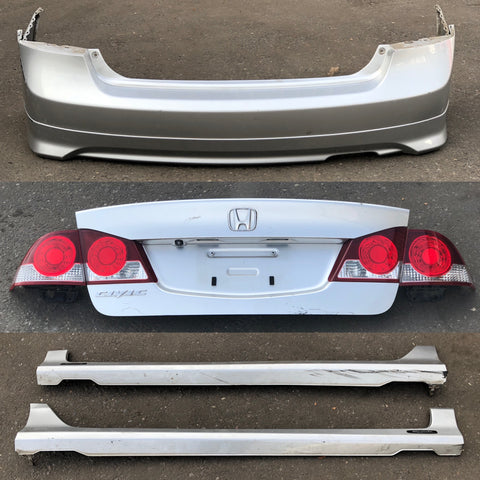 JDM 2006-2008 Honda Civic/Acura CSX Rear End Conversion Rear Trunk Bumper Lights
