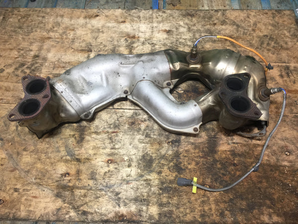 JDM Subaru Exhaust Manifold Cat Converter Forester Impreza Legacy Outback 06-12