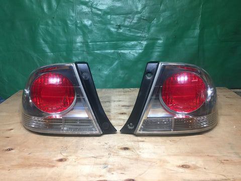 Jdm Toyota Altezza SXE10 GXE10 Lexus IS200 IS300 Tail Lights OEM GENUINE