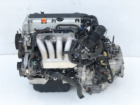 JDM 04-08 Honda K24A 2.4L DOHC i-VTEC RBB 200HP Engine K24A2 Acura TSX - Live Compression Tested 200 PSI
