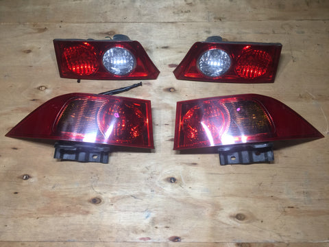 JDM Honda Accord/Acura TSX Tail Lights Lamps OEM 2004-2008 Sedan 4-Door Genuine