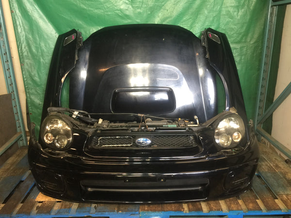 2002-2003 JDM Subaru Impreza STI Bugeye Front End Conversion Nose Cut Sedan V7