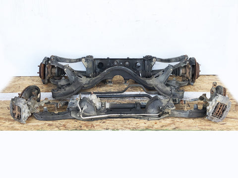 Nissan Silvia S14 Front & Rear Subframe W/ Knuckles, CV Axles Rack & Pinion Etc..