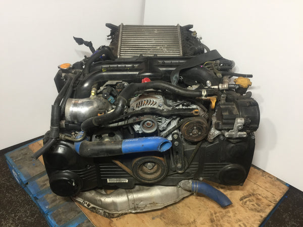 06-14 Subaru Impreza WRX 2.0L DOHC AVCS Engine W/Secondary Air Pump JDM EJ20XHB