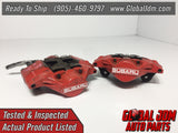 JDM OEM 02-07 Subaru Impreza WRX Rear Calipers 2 Pot Genuine