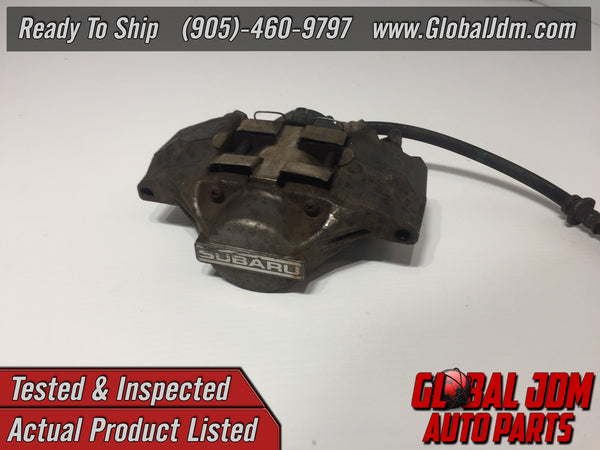 JDM OEM 02-07 Subaru Impreza WRX Rear Left Caliper 2 Pot Genuine