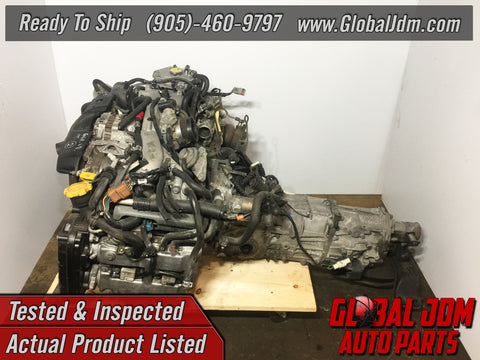 JDM Subaru Impreza WRX EJ205 AVCS Engine 5 Speed Transmission 2002-2005
