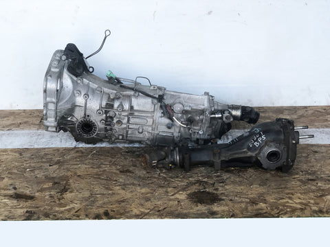 JDM Subaru Forester EJ205 Turbo 5speed AWD Transmission TY755VB5BA 2004