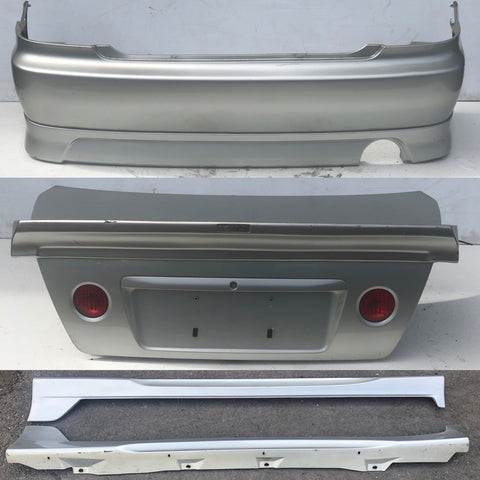 JDM 1998-2005 Toyota Altezza Lexus IS300 TRD Trunk & Toms Wing + Side Skirts + Rear Bumper & Lip