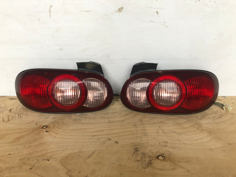JDM 1999-2005 Mazda MX-5 MIATA Roadster NB Taillights Tail Lights Lamps SET OEM
