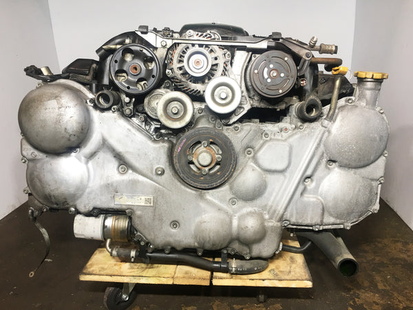 JDM 05-09 Subaru Legacy Tribeca 3.0L EZ30 Engine With 6-Speed AWD Manual Transmission