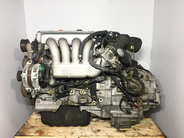 JDM Honda Acura K24A Type S Engine 2.4L DOHC I-VTEC Motor RBB Head & Automatic Transmission